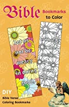 Bible Bookmarks to Color: DIY Bible Verse…