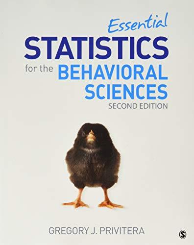 bundle-privitera-essential-statistics-for-the-behavioral-sciences-second-edition-paperback-spps-v24