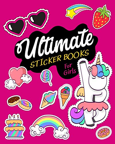 ultimate-sticker-books-for-girls-blank-sticker-book-8-x-10-64-pages