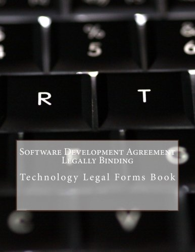 software-development-agreement-legally-binding-technology-legal-forms-book