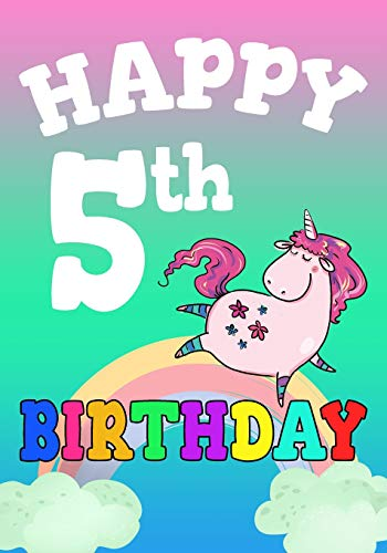 happy-5th-birthday-birthday-books-for-children-birthday-journal-not-for-5-year-old-for-journaling-doodling-7-x-10-birthday-keepsake-book
