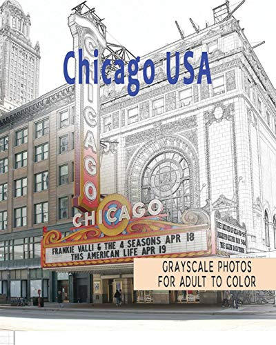 beautiful-cities-a-grayscale-adult-coloring-book-of-cities-chicago-usa-coloring-books-for-grown-ups-volume-1