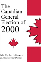The Canadian General Election of 2000 by…