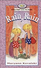 Rain, Rain (First Flight Books Level Two) by…