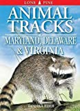 Tamara Eder: Animal Tracks of Maryland, Delaware & Virginia (Animal Tracks Guides)