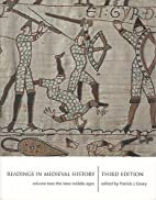 Readings In Medieval History 2: The Later…
