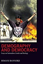 Demography and democracy : essays on…