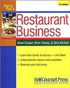 Start & Run a Profitable Restaurant…