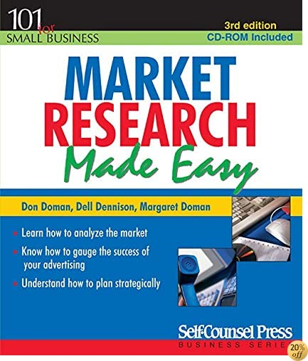 Market Research Made Easy (Self-Counsel Business)