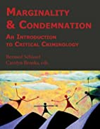 Marginality & Condemnation: An Introduction…