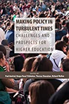 Making policy in turbulent times :…