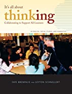 It's All About Thinking: Collaborating…