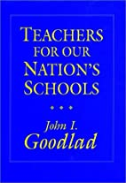 Teachers for Our Nation's Schools (Jossey…
