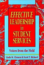 Effective Leadership in Student Services:…