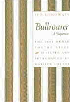 Bullroarer: A Sequence (Samuel French Morse…