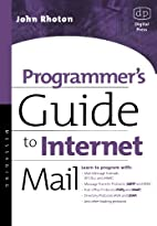 Programmer's Guide to Internet Mail: SMTP,…