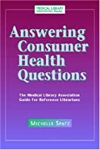 Answering Consumer Health Questions: The…