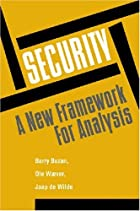 Security: A New Framework for Analysis by…