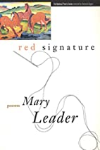 Red Signature (National Poetry Series) by…