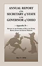 Annual Report of the Secretary of State to…