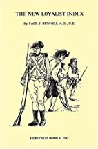 The new Loyalist index by Paul J. Bunnell