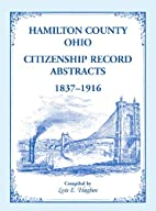 Hamilton County, Ohio Citizenship Record…