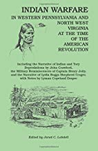 Indian Warfare in Western Pennsylvania and…