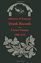 Abstracts of Tennessee Death Records for…