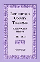 Rutherford County, Tennessee, county court…