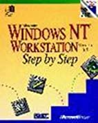 Microsoft Windows NT workstation version 3.5…