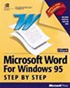95 Windows Step by Step by Catapult Inc