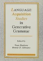 Language Acquisition Studies in Generative…