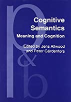 Cognitive Semantics: Meaning and Cognition…
