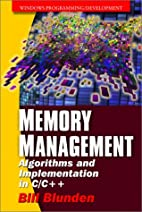 Memory Management: Algorithms and…