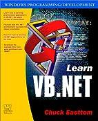 Learn VB.NET by Chuck Easttom