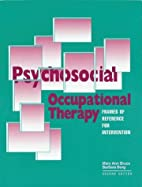Psychosocial Occupational Therapy: Frames of…