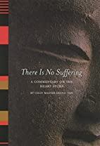There Is No Suffering: A Commentary on the…