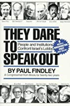 They Dare to Speak Out: People and…