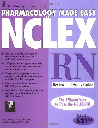 chicago-review-press-pharmacology-made-easy-for-nclex-rn-review-and-study-guide-pharmacology-made-easy-for-nclex-series