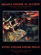 Degas's Atelier at Auction: Vente Atelier…