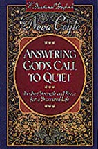 Answering God's Call to Quiet: Finding…