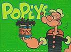 Popeye Postcard Book by E. C. Segar