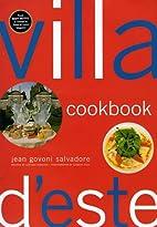 Villa D'este Cookbook by Jean Govoni…