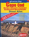 Arrow Maps: American Map Cape Cod Martha's Vineyard & Nantucket Southeastern Massachusetts: Martha's Vineyard & Nantucket, Southeastern Massachusetts