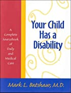 Your Child Has a Disability: A Complete…