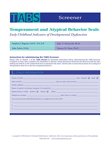 temperament-and-atypical-behavior-scale-tabs-screener-early-childhood-indicators-of-developmental-dysfunction