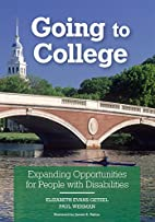 Going To College: Expanding Opportunities…