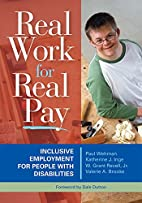 Real Work for Real Pay: Inclusive Employment…
