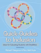 Quick-Guides to Inclusion: Ideas for…