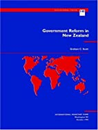 Government reform in New Zealand by Graham…
